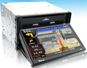 7 inch 2 DIN touch screen GPS/DVD/BUILDING MAP!